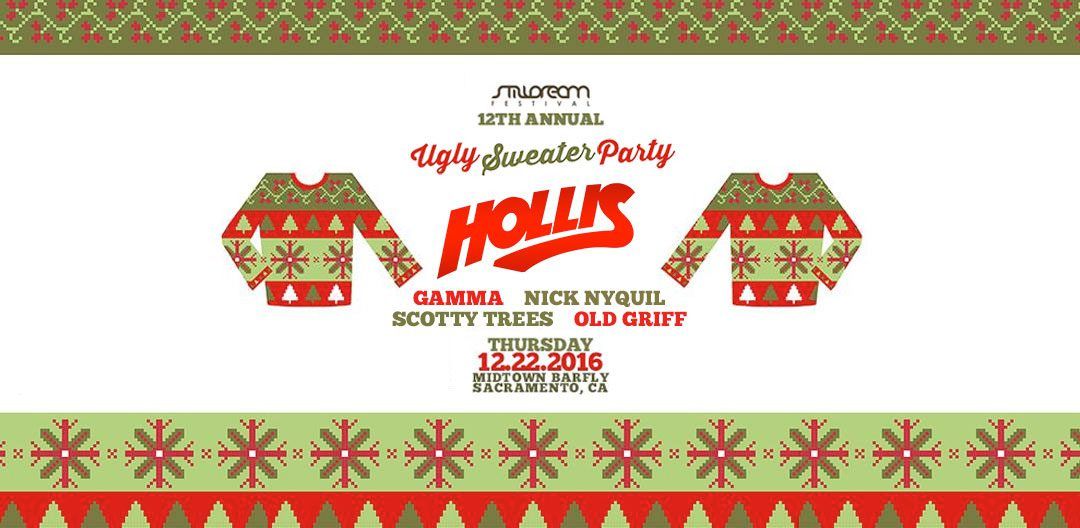 2016.12.22 – 12th Annual Ugly Sweater Party feat Hollis