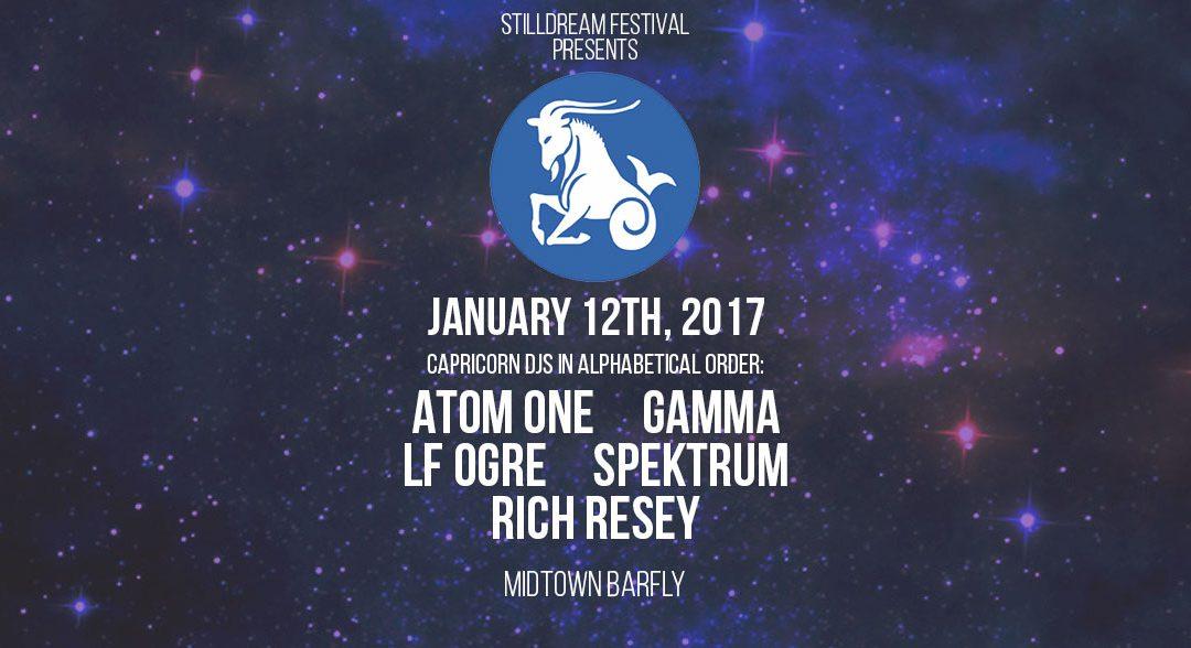 2017.01.12 – Stilldreamin Capricorn Celebration