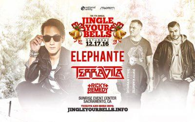 Jingle Your Bells 2016 – Elephante, Terravita, Ricky Remedy
