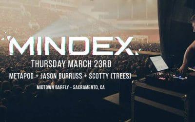 17.03.23 – Mindex, Metapød, Jason Burruss, Scotty Trees