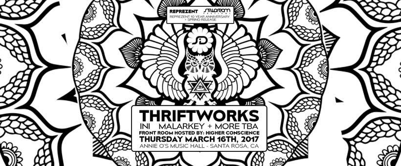 17.03.16 – Thriftworks – Stilldream & Reprezent Clothing present