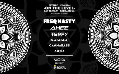 19.10.05 – On the Level – Reprezent Clothing Fall Release w/ Freq Nasty, Ahee and more!
